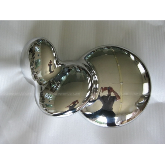 Stainless Steel Abstract Ball Sculpture